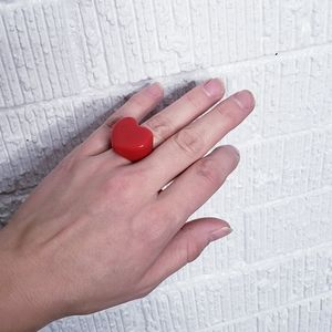Vintage heart ring